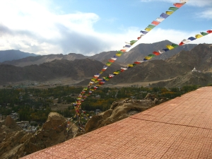 Prayer flags @ Leh