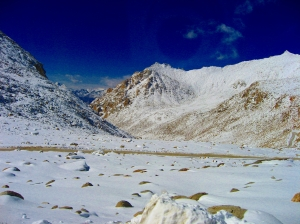 Snowy Mountains..near Khardung la