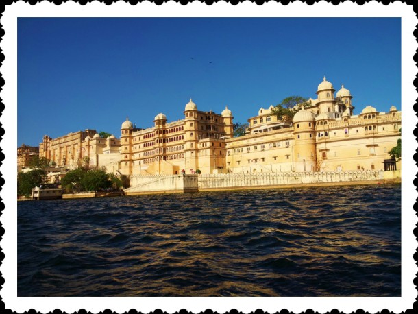City Palace view from Lake Pichola