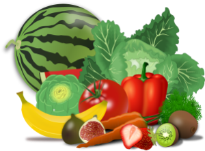 Lots of vegetable & fruits