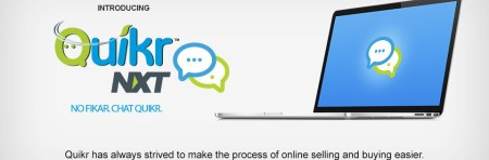 Chat with Quikr Nxt..