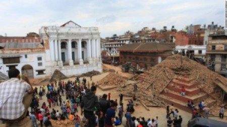 Priceless history turned into ruins Source: http://edition.cnn.com/2015/04/26/travel/nepal-earthquake-landmarks/