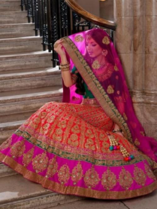 Bridals-Wear-Indian-Dresses-For-Girls-Wedding-Lehenga
