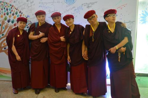 Drukpak Monks..