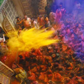 This Holi, Celebrate with the Living Gods ofVrindavan!