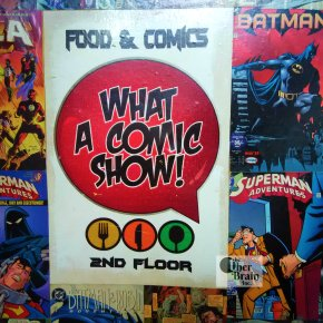 What A Comic Show, S.D.A., Delhi – RestaurantReview