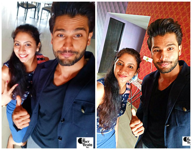 First Selfie with Rohit Khandelwal - Mr. World 2016 taken with #SelfieExpert OppoF1s